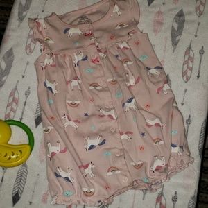 Carter's 18 months little girl romper